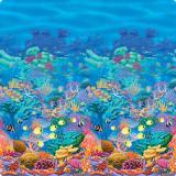 """Déco murale """"Récif de corail"""" 1,2 x 12,2 m"""
