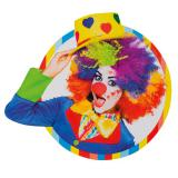 """Déco murale """"Clown coloré"""" 31 cm"""