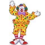 """Déco de salle """"Drôle de clown de cirque"""" 76 cm"""