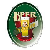 "Déco murale ""Premium beer"" 43 cm"