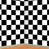 """Déco murale """"Motif échiquier"""" 1,2 x 9,1 m"""