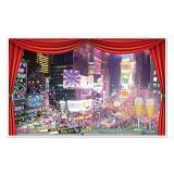 """Déco murale """"Nouvel An à Broadway"""" 157 cm"""