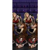 """Déco murale XL """"Morsure de vampire"""" 600 cm 2 pcs"""