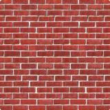 """Déco murale """"Mur de briques"""" 1,2 x 9,1 m"""