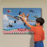 """Jeu déco murale personnalisable """"Planes"""" 94 x 61,5 cm"""