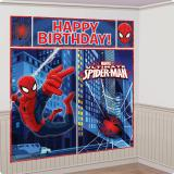 """Déco murale """"Spider-Man Party"""" 5 pcs."""