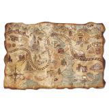 """Carte au trésor Western """"Goldfinger"""" 30 cm x 46 cm"""