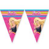 """Guirlande de fanions """"Barbie"""" 3 m"""