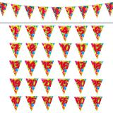 "Guirlande de fanions ""Happy Birthday Ballons Multicolores"" 10 m - 18"