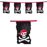 """Guirlande de fanions """"Jolly Roger"""" 10 m"""