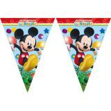 """Guirlande de fanions """"Le club de Mickey Mouse"""" 230 cm"""