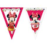 "Guirlande de fanions ""Adorable Minnie Mouse"" 2,3 m"
