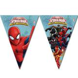 "Guirlande de fanions ""Spider-Man - Web Warriors"" 2,3 m"