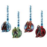 """4 suspensions à spirales """"Avengers - Age of Ultron"""""""