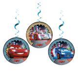 """Suspensions à spirales """"Cars Neon City"""" 3 pcs."""