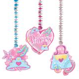 "Suspensions à spirales ""Princess"" 22,8 cm 3 pcs"