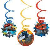 """Suspensions à spirales """"Blaze et les Monster Machines"""" 6 pcs."""