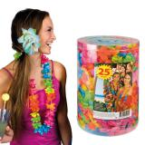 Lot XL de colliers de fleurs hawaïens 25 pcs