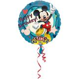 "Ballon en alu XL musical ""Mickey Mouse"" 71 cm"
