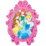 "Ballon en aluminium XL ""Princesses Disney"" 78 x 63 cm"