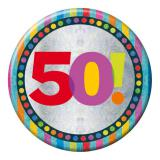 """Macaron XXL """"50 Ans"""" 15 cm"""