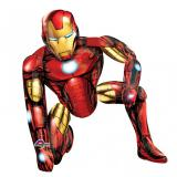 "Ballon en aluminium XXL ""Iron Man"" 1,1 m"