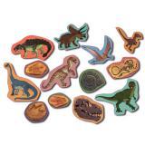 """Confettis XXL """"Vie de dinosaures"""" 39 pcs."""