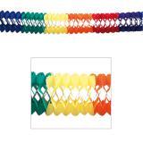 Guirlande en papier multicolore XXL 10 m
