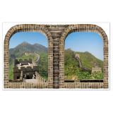Déco murale XXL Grande Muraille de Chine 1,57 m
