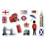 "Confettis XXL ""England"" 42 pcs."
