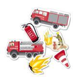 """Confetti XXL """"Pompier"""" 24 pièces"""