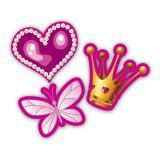 """Confettis XXL """"Vie de princesse"""" 24 pcs."""