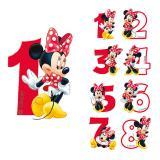 "Bougie chiffre ""Minnie Mouse"" 6,5 cm"