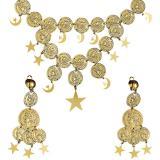 """Set de bijoux tziganes """"Pièces et étoiles"""" 2 pcs"""